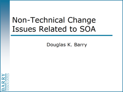 Non-Techncial Change Issues Related to SOA